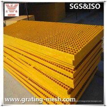 FRP / GRP Pultruded Grating pour Trench Cover and Platform