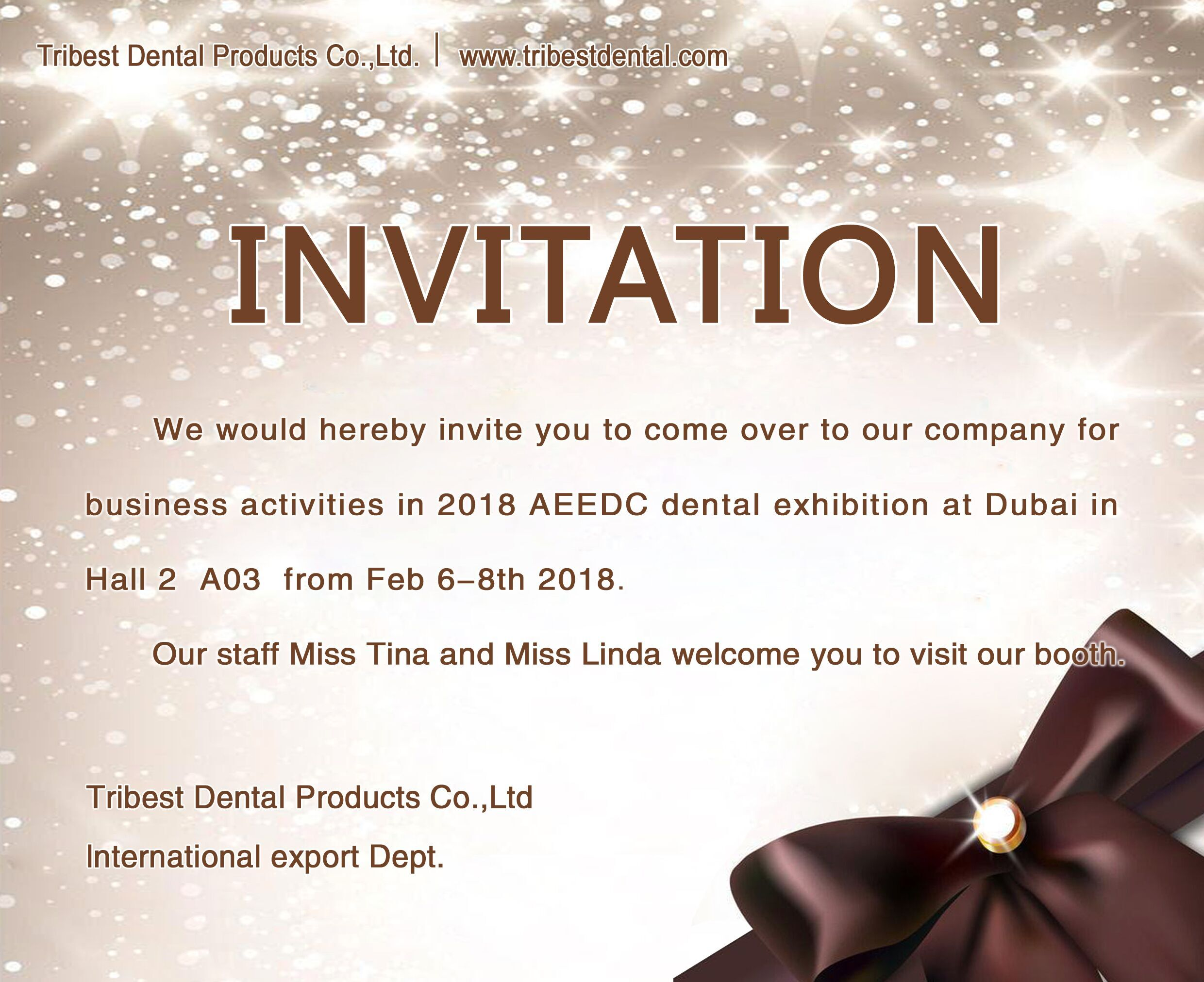 2018 AEEDC Invitation