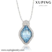 32792-xuping fashion imitation jewelry Crystals from Swarovski, custom company logo blue color charm pendant