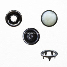 Oeko-Tex 100 Pass Metal Cap Prong Snap Button