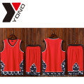 100% Polyester Wholesale Man Sport Shirt Basketball Jersey Custom Print Basketball Wear