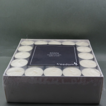 Decoraciones de Tealight White Candle Tea