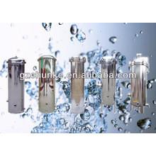 Filtro de cartucho de agua de acero inoxidable de alta calidad