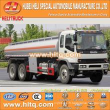 Technologie japonaise 6x4 280hp 20CBM camion citerne à réservoir de produits chimiques liquides à vendre, approvisionnement en usine de Chine