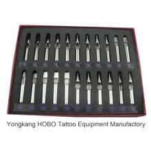 Professional curto aço inoxidável tatuagem agulha dicas tatuagem apertos oferta