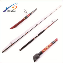 GMR093 china manufacture fishing tackle customized carbon fishing boat rods