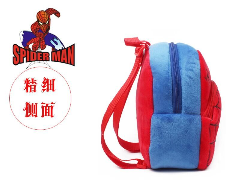 Spider-man red backpack shoulders mainstream