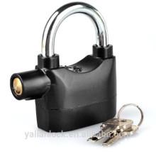 Joyluxy Goldiger Alarme Lock Anti-roubo Sensor de Movimento Cadeado de Segurança com 3 Chaves