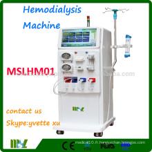 MSLHM01 2016 Chine Fabrication d'une machine d'hémodialyse Machine de dialyse professionnelle pour hôpital
