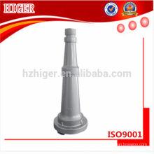 partes de aluminio anodizadas trabajadas a máquina cnc / piezas de la máquina del aguanieve / piezas de la máquina del torno del cnc