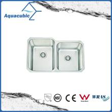 Nuevo fregadero de cocina elegante del fregadero del acero inoxidable del diseño (ACS7950M)