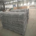 Galvanized steel wire welded gabion baskets
