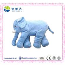 Новая подушка синего слона нового прибытия