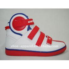 новый прибытия высокого верха мужчины скейт обувь и ботинки баскетбола