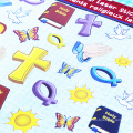 2018 горячие продажи наклейка стикер ангел дизайн для малыша съемный новый стиль виниловые наклейки