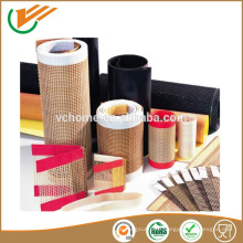 High Tensile Strength PTFE Fiberglass Open Mesh Conveyor Belt PTFE mesh belt