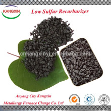 Used as caburizer for special steel product low sulfur recarburizer