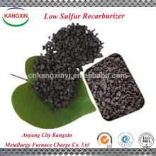 Usado como caburizador para o produto de aço especial com baixo teor de enxofre