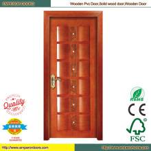 PVC Folding Door Closet Doors Teak Wood Door