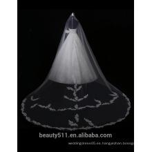 Venta caliente bordado A-línea de hombro Alibaba vestido de novia de encaje F11701