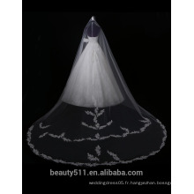 Hot Sale brodé A-Line hors-épaule Alibaba robe de mariée en dentelle F11701