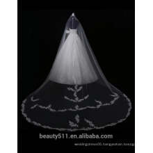 Hot Sale Embroidered A-Line Off-Shoulder Alibaba Lace Wedding Dress F11701