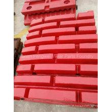 Equipamento de mineração Foundry Supply Jaw Crusher Spare Parts