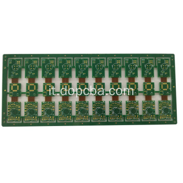 scheda PCB immersion in oro rigido da 1OZ ad immersione