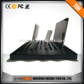 Port USB charger multiple charging station desktop with1.6M power cable