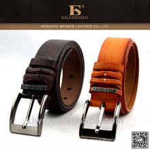 2015 new design high quality genunie leather belt