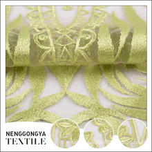 New arrival Different kinds of soft embroidered 3d embroidery fabric