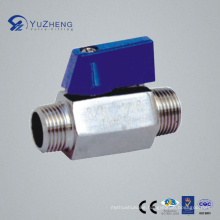 "1/4""-3/4"" Mm Mini Ball Valve with Male Thread"