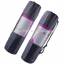 Bolsa de almacenamiento neto impermeable de la estera del yoga del paño de nylon