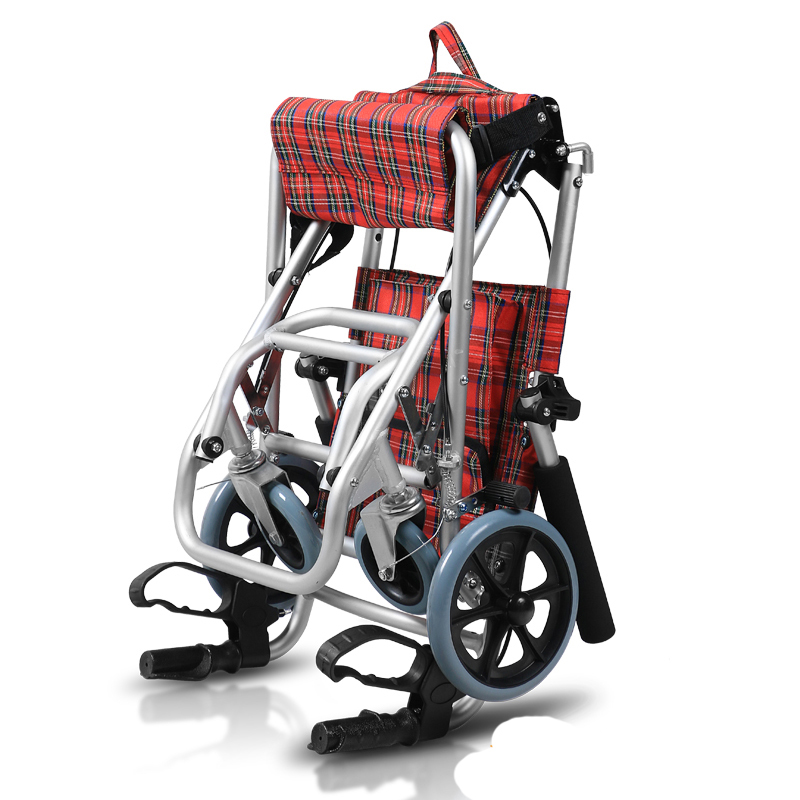 Aluminum Manual Wheelchair folding (1)