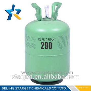 Propano refrigerante de alta pureza r290 para ar condicionado