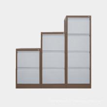 Luoyang Büromöbel weiße Farbe Stahlschrank hochwertige Büroschrank Lagerung