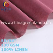 100% Linen Fabric for Top Clothes Garments (GLLML465)