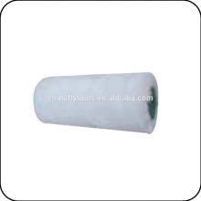 Cepillo pequeño del rodillo de pintura de la tela blanca