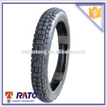 Productos calientes 3.00-18 motocicleta partes del cuerpo rueda de goma de la motocicleta