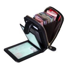 Minimalistische Bifold Leder Brieftaschen für Männer