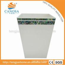Últimos Design Paua shell escaninho de lixo artesanal