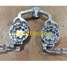 Good Quality for Motorcycle Aluminum Parts Castings AC Compressor Housing Rear Cover Casting supply to Saudi Arabia Factory