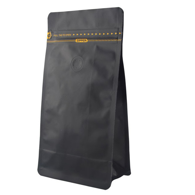 coffee flat bottom bag two