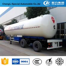 Camión semi remolque de 54000 litros LPG Tanker para la venta