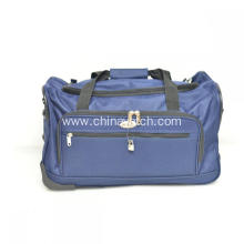Over Night Trolley Duffle Bag with 2 Wheels