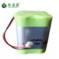 China wholesale 4S1P 12.8V 3Ah 22650 rechargeable battery battery lifepo4 lipo