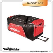 "39"" колесах с закусками сумка с тележкой для багажа колеса"