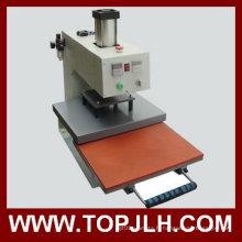 Topjlh Sublimation pneumatique seul endroit chaleur presse transfert Machine
