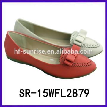 2015 Wohnungen benutzerdefinierte Komfort Schuh PU Schuhe Großhandel Preis Schuhe