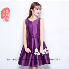 Bridesmaid Dress 2017 New Style Satin Bridesmaid Dress Sister Skirt